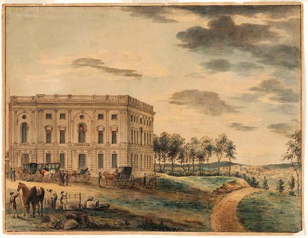 US Capitol 1800