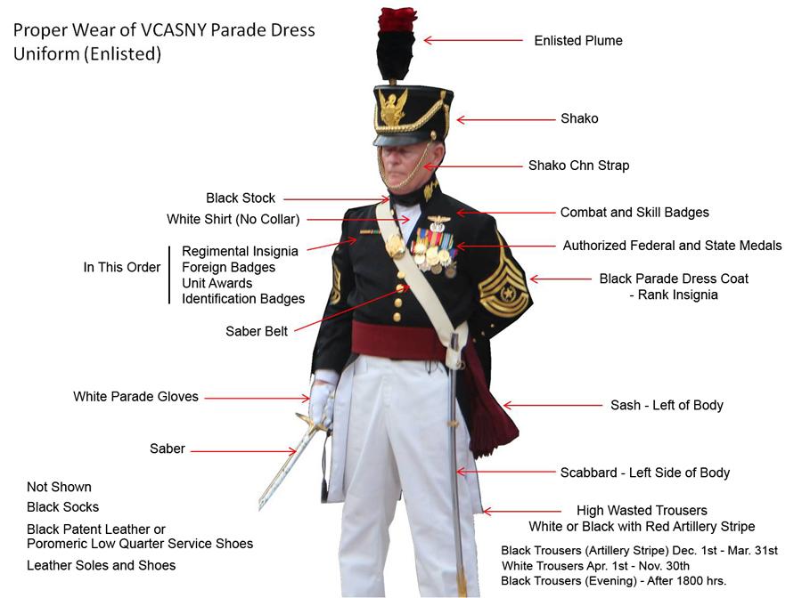 Parade Dress Uniform