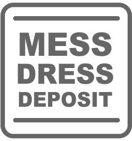 Mess Dress Deposit