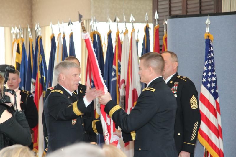 COL Graham assumes Command
